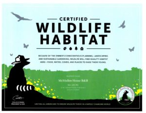 Certified Wildlife Certificate