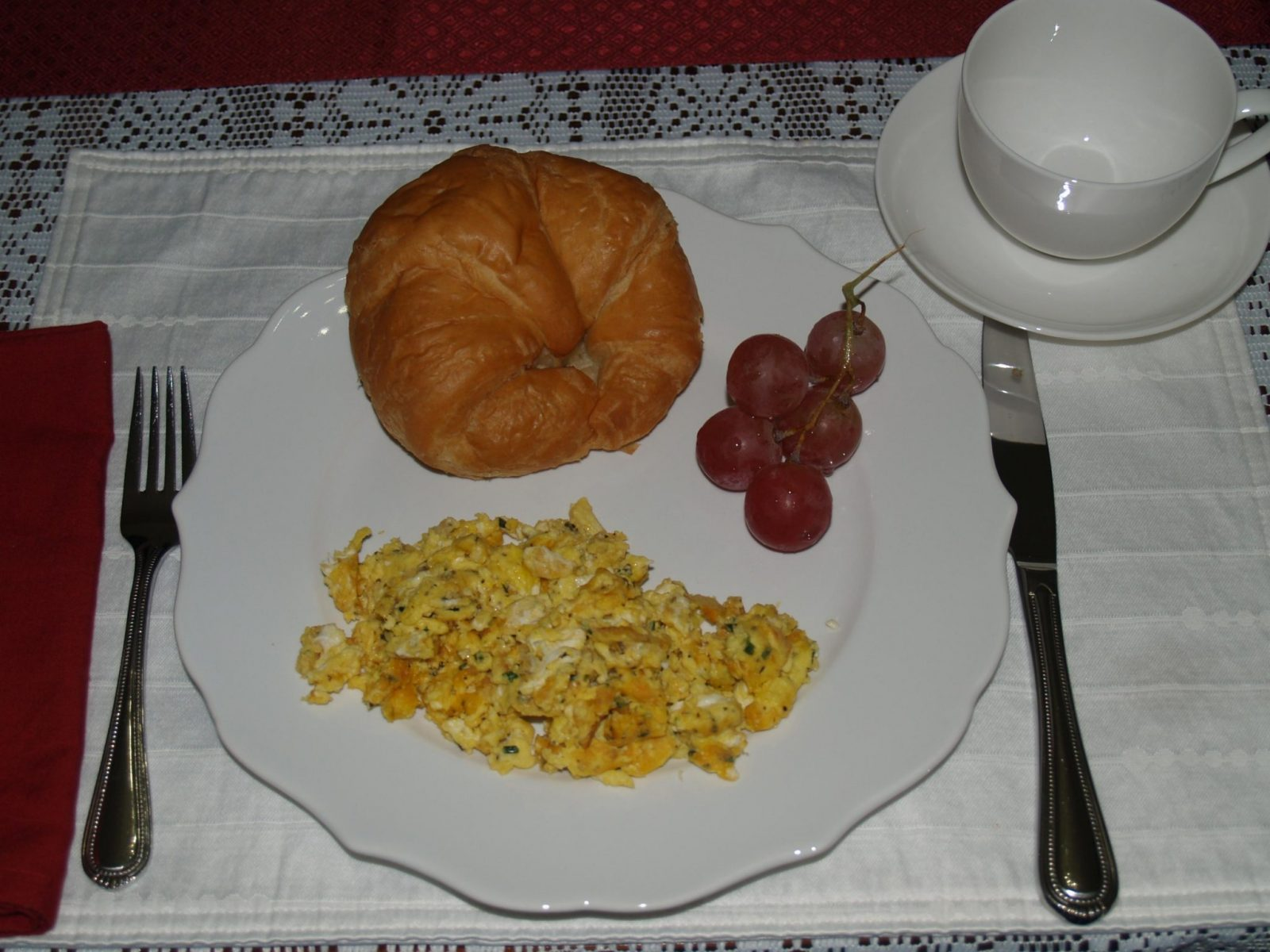 Picture of French Scrambled Eggs at McMullen House